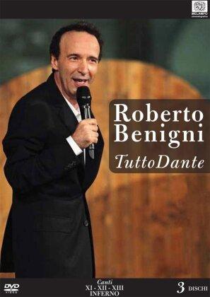 Roberto Benigni - Tutto Dante - Canti XI, XII, XIII Inferno (3 DVDs)