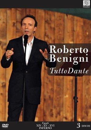Roberto Benigni - Tutto Dante - Canto XIV, XV, XVI Inferno (3 DVDs)