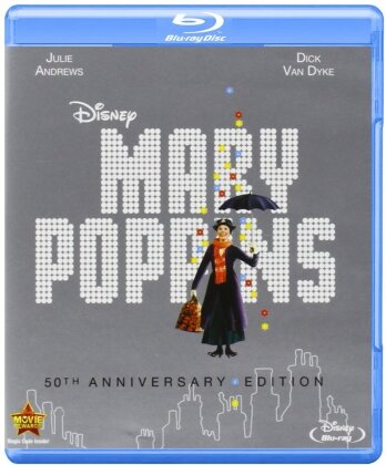 Mary Poppins (1964) (50th Anniversary Edition, Blu-ray + DVD)