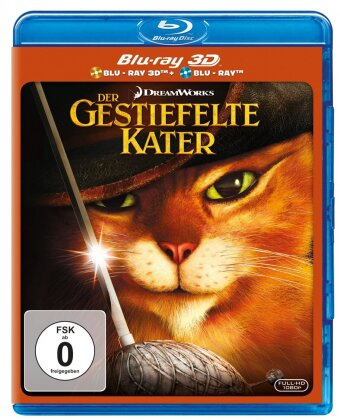 Der gestiefelte Kater (2011) (Blu-ray 3D + Blu-ray)