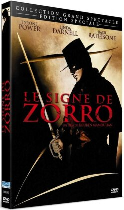 Le signe de Zorro (1940) (Mediabook, s/w, Special Edition, Blu-ray + DVD + Buch)