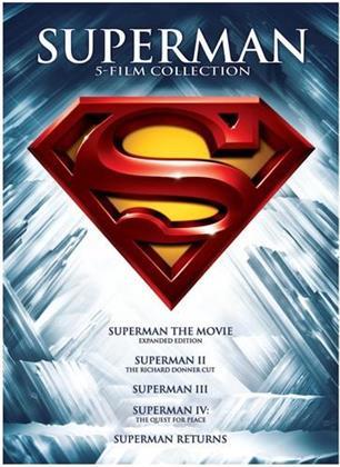 Superman - 5 Film Collection (Edizione Speciale, 5 DVD)