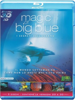 Magic of the big blue - I segreti dell'oceano (3 Blu-ray 3D (+2D))