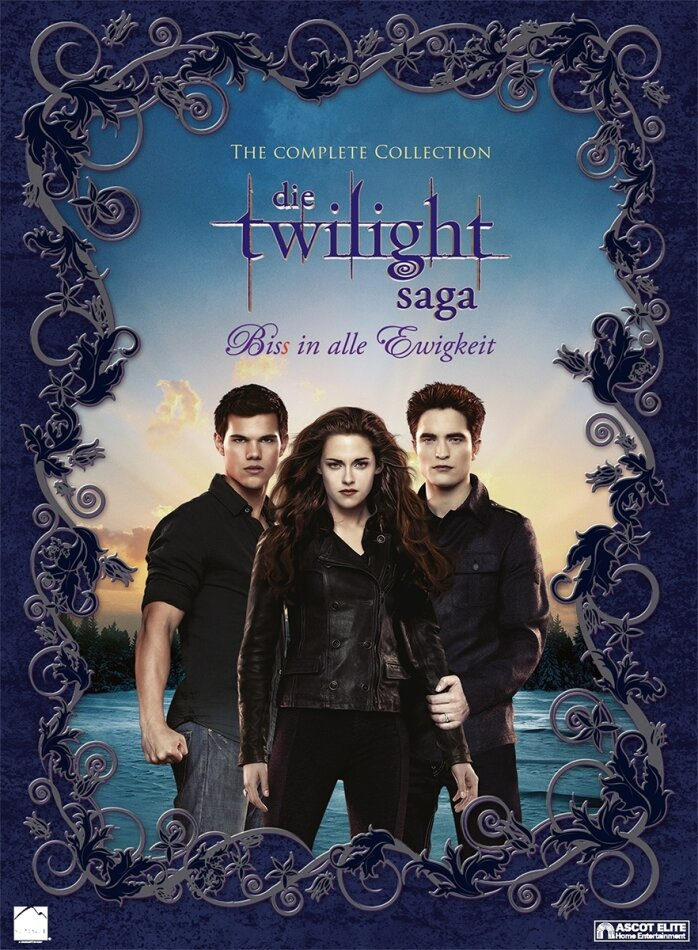 Die Twilight Saga - The Complete Collection Teil 1-5 (11 DVDs)