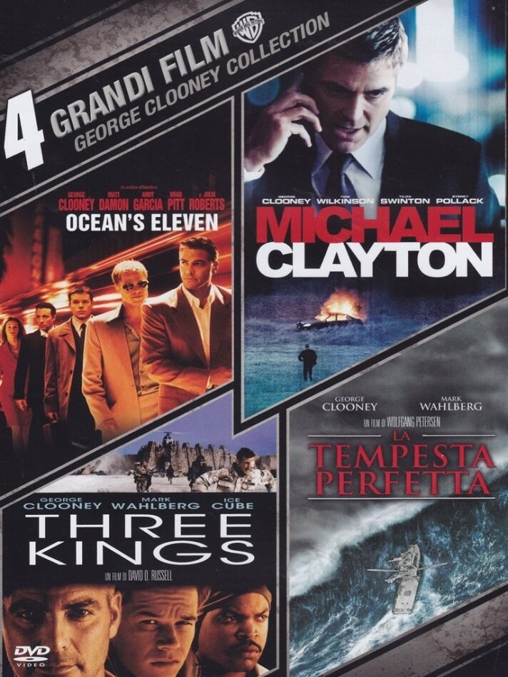 4 Grandi Film - George Clooney Collection (4 DVDs)
