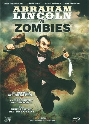 Abraham Lincoln vs. Zombies (2012) (Limited Uncut Edition, Blu-ray 3D (+2D) + DVD)
