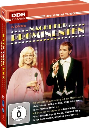 Nacht der Prominenten (5 DVDs)