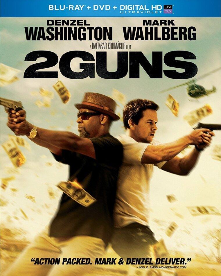 2 Guns (2013) (Blu-ray + DVD)