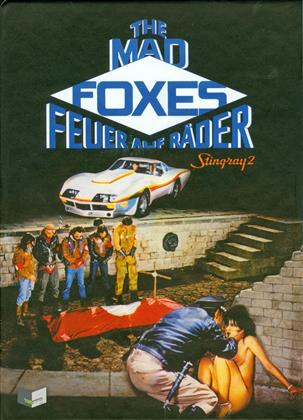 The Mad Foxes - Feuer auf Räder - Stingray 2 (1981) (Cover A, Limited Edition, Mediabook, Uncut, Blu-ray + DVD)