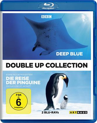 Deep Blue / Die Reise der Pinguine (Double Up Collection, Arthaus, 2 Blu-ray)