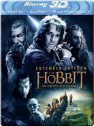 The Hobbit - An Unexpected Journey - Extendet Edition Steelbook (2012) (5 Blu-ray 3D (+2D))