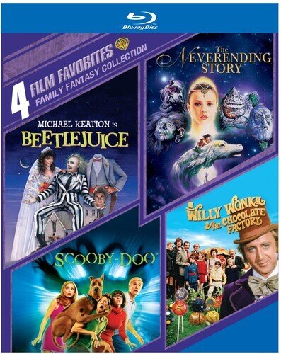 Family Fantasy Collection - 4 Film Favorites (4 Blu-rays)