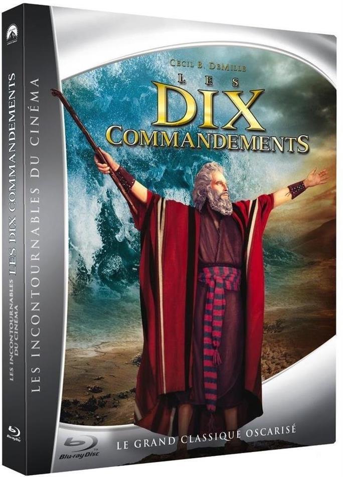 Les dix commandements (1956) (Digibook, 2 Blu-rays)