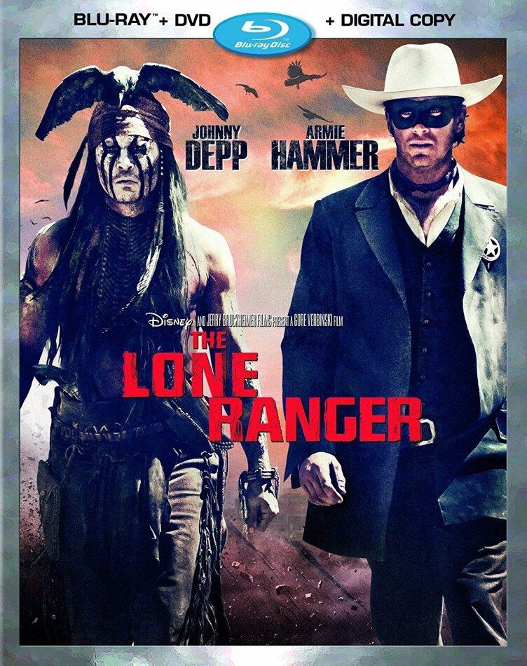The Lone Ranger (2013) (Blu-ray + DVD)