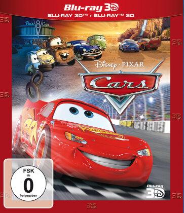 Cars (2006) (Blu-ray 3D + Blu-ray)