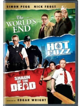 The World's End / Hot Fuzz / Shaun of the Dead (3 DVDs)