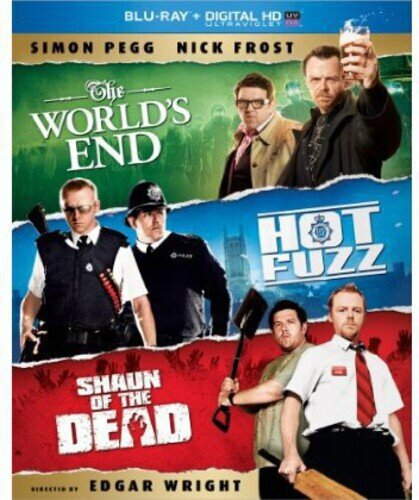 The World's End / Hot Fuzz / Shaun of the Dead (3 Blu-rays)