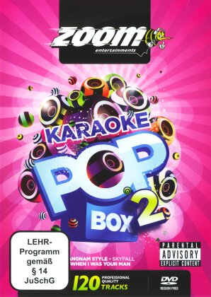 Karaoke - Zoom Karaoke Pop Box 2 (4 DVDs)