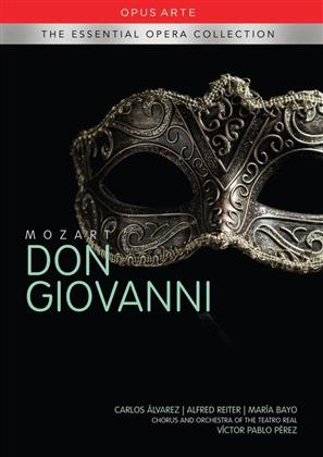 Orchestra of the Teatro Real Madrid, Victor Pablo Pérez, … - Mozart - Don Giovanni (Essential Opera Collection, Opus Arte, 2 DVDs)