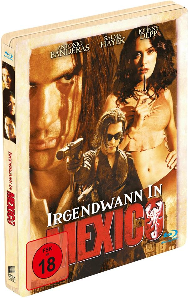 Irgendwann in Mexico (2003) (Limited Edition, Steelbook)