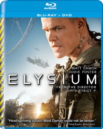 Elysium (2013) (Blu-ray + DVD)