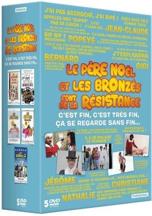 Le Père Noël et Les Bronzés font de la Résistance (Coffret, 5 DVD)