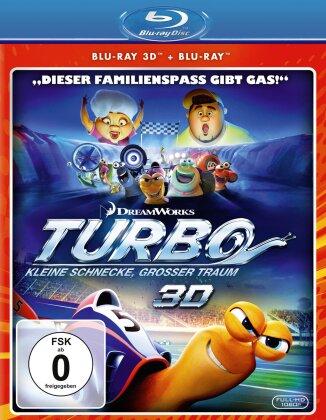 Turbo - Kleine Schnecke, grosser Traum (2013) (Deluxe Edition, Blu-ray 3D (+2D) + DVD)