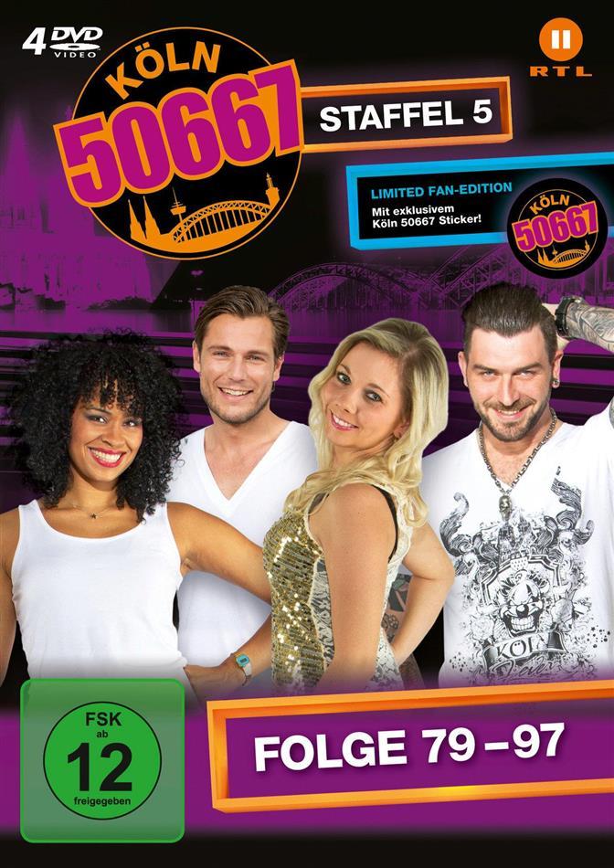Köln 50667 - Staffel 5 (Fan Edition, Limited Edition, 4 DVDs)