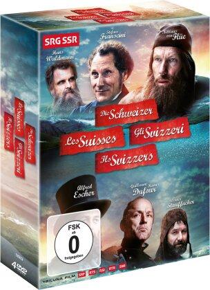 Die Schweizer - Les Suisses - Gli Svizzeri - Ills Svizze (4 DVD)