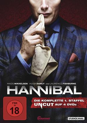 Hannibal - Staffel 1 (Uncut, 4 DVDs)