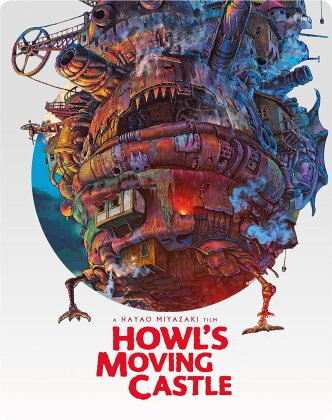 Howl's Moving Castle (2004) (Steelbook, Blu-ray + DVD)