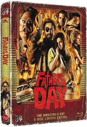 Father's Day (2011) (Digipack, Director's Cut, Limited Edition, Uncut, Blu-ray + 4 DVDs + CD)