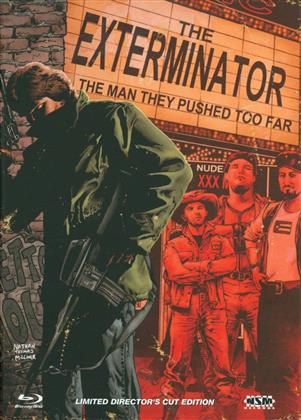 The Exterminator (1980) (Cover B, Limited Edition, Mediabook, Uncut, Blu-ray + DVD)