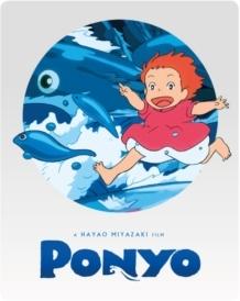 Ponyo (2008) (Steelbook, Blu-ray + DVD)
