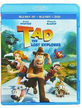 Tad: The Lost Explorer - Las aventuras de Tadeo Jones (2012) (Blu-ray 3D (+2D) + Blu-ray + DVD)