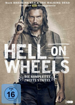 Hell on Wheels - Staffel 2 (3 DVDs)
