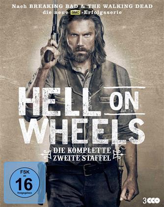 Hell on Wheels - Staffel 2 (3 Blu-rays)