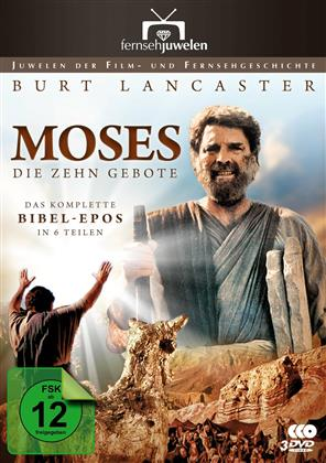 Moses - Die zehn Gebote (Fernsehjuwelen - 3 DVDs) (1975)