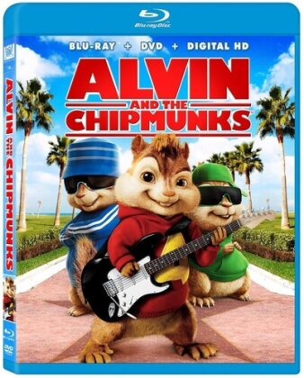 Alvin & The Chipmunks - Alvin & The Chipmunks / (P&S) (2007) (Blu-ray + DVD)
