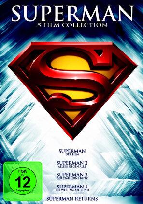 Superman - Die Spielfilm Collection (5 DVDs)