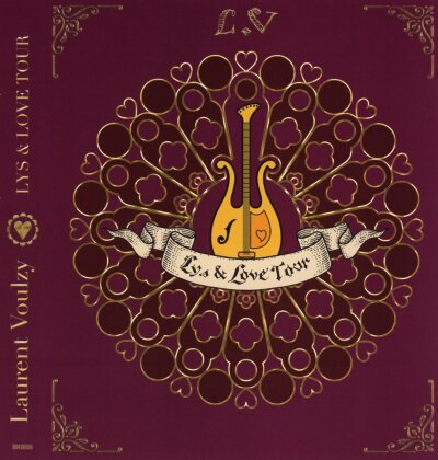 Laurent Voulzy - Lys & Love Tour - Live (Blu-ray + 2 CDs)