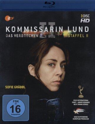Kommissarin Lund - Staffel 2 - Das Verbrechen (3 Blu-rays)