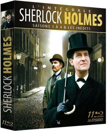 Sherlock Holmes - Saisons 1 - 4 (Box, 10 Blu-rays)