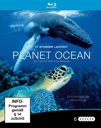Planet Ocean - Die ganze Welt des Meeres (Steelbook, 6 Blu-ray)