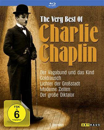 Charlie Chaplin - The Very Best of Charlie Chaplin (5 Blu-ray)