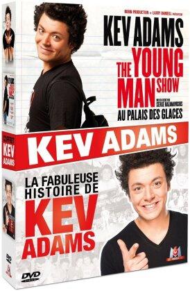 Kev Adams - The Young Man Show / La fabuleuse histoire de Kev Adams (2 DVDs)