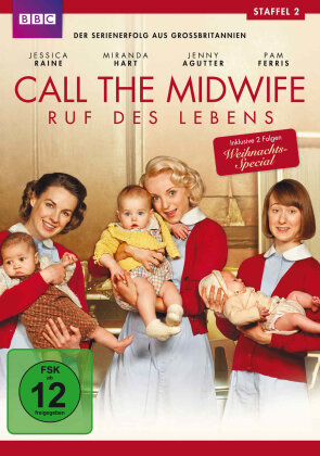 Call the Midwife - Staffel 2 (BBC, 3 DVDs)