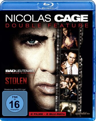 Nicolas Cage Double Feature - Bad Lieutenant / Stolen (2 Blu-rays)