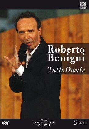 Roberto Benigni - Tutto Dante - Canti XVII, XVIII, XIX Inferno (3 DVDs)