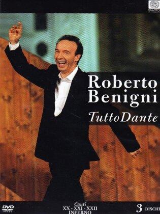 Roberto Benigni - Tutto Dante - Canto XX, XXI, XXII Inferno (3 DVDs)